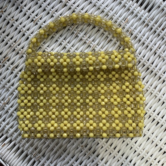 1960s beaded bag - image 3