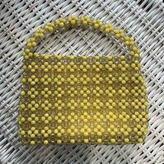 1960s beaded bag - image 4