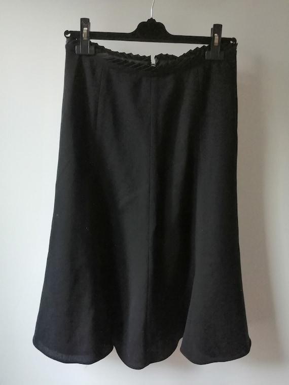 Escada flared skirt