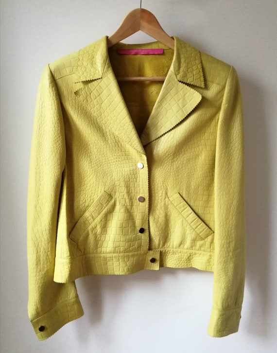 Vintage yellow Ungaro jacket