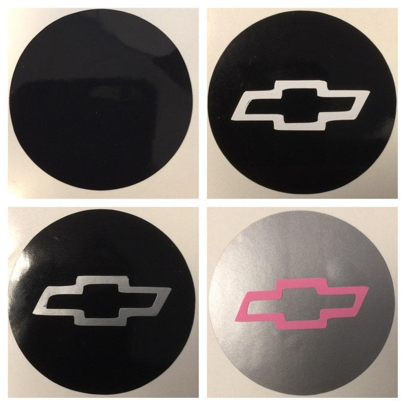 8pc Mitsubishi Center Cap Vinyl Sticker Decals Overlay W// Background Circles
