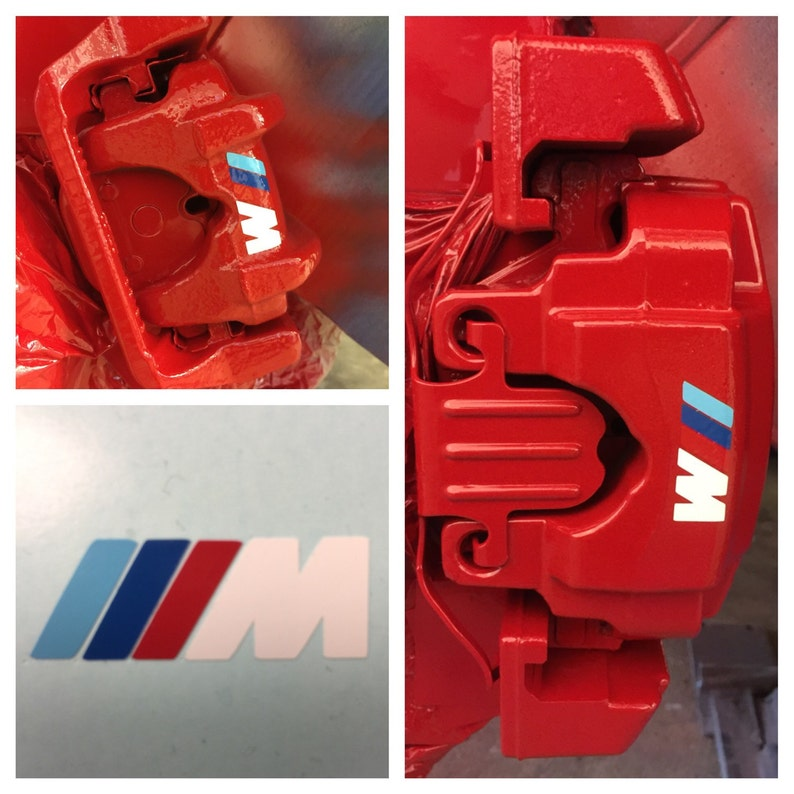 Involucro di BMW M Power Brake Caliper vinile adesivo Decal  59c0fdab77d2