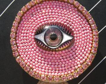 Authentic Popsockets© Phone Grip Boho Evil Eye - Pink or Blue