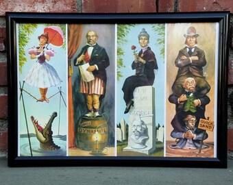 Disneyland Haunted Mansion Stretch Paintings Fine Art Print