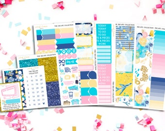 FINAL SALE Escape Sticker Kit - to fit ECLP, Happy Planner and more!