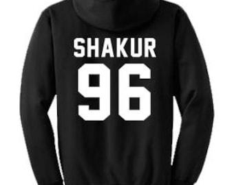 SHAKUR 96 Hoodie  A002    Tupac Hoodies    2Pac Sweatshirt    90s Hip Hop  Clothing c38a7549a