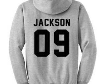 JACKSON 09 Hoodie #B002