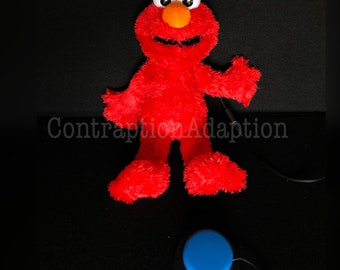Switch Adapted Tickle Me Elmo!