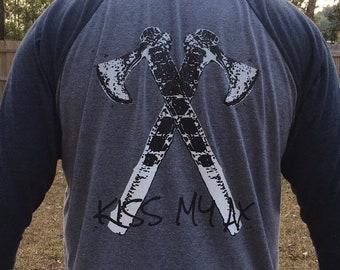 Team Mossy Forge 3/4 sleeve baseball tee