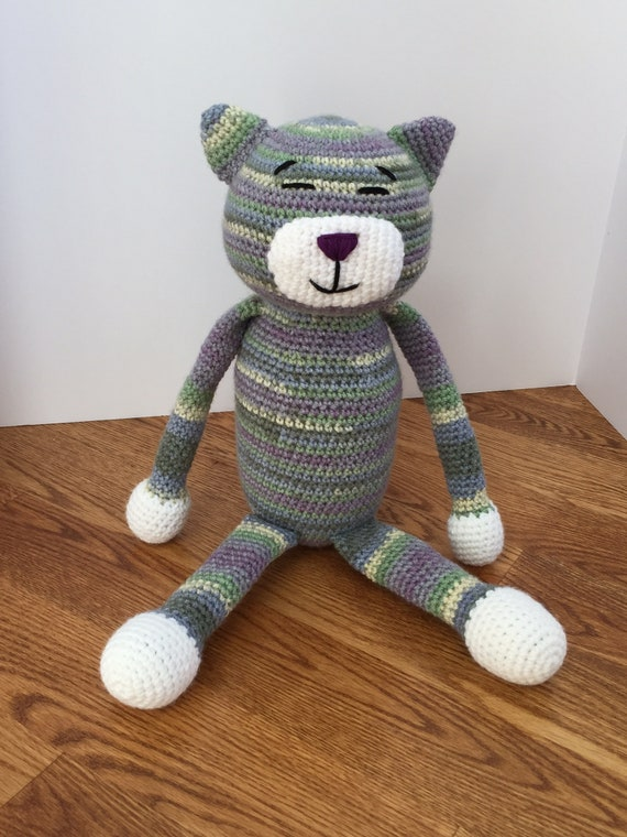 Large Ami Cat Free Crochet Pattern   760x570