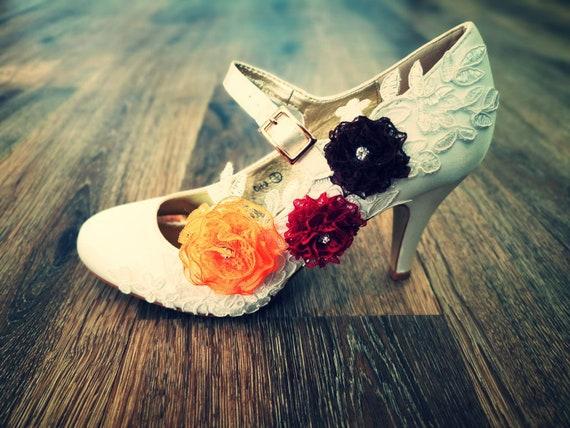 wedding bridal Mary Jane court shoes   Etsy