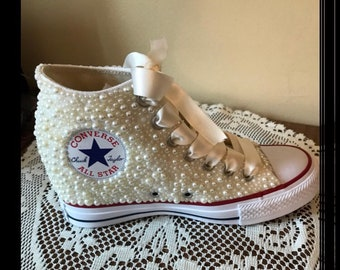 facb0f5b37076a Custom High Tops Converse Sneakers