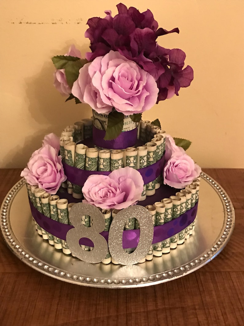 Birthday Party Gift Money Cake Centerpiece Graduation Retirement Quinceanera Mitzvah Sweet 16 Wedding Anniversary