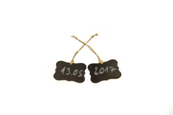 Rustic Wedding Signs. Product For Basket Wood Price Labels Set of 10 Chalkboard Tags