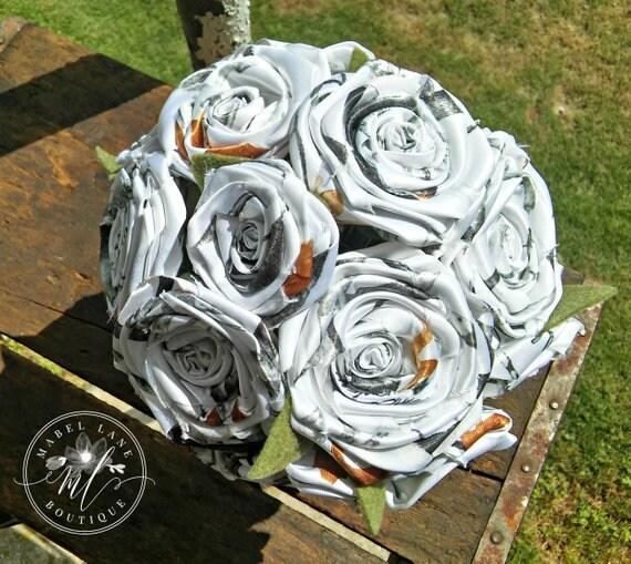 Wholesale Camo Flowers With Stems 100 Stemmed Wedding Event Decor Diy Bouquet Artificial Flowers Bulk Floral Supplies Faux Flowers