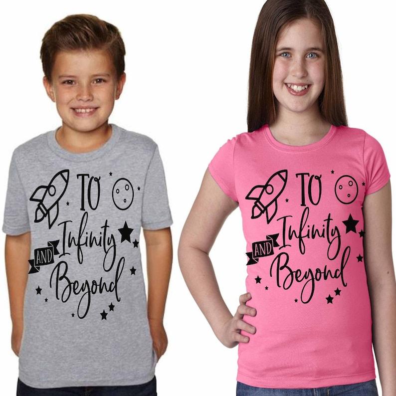 Kids Disney Shirt Toy Story 4 Buzz Lightyear To Infinity and image 0