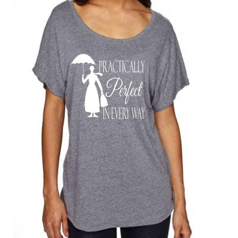 Disney Shirt  Mary Poppins Practically Perfect in Every Way image 0