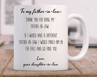 Father In Law Gift Funny Of The Groom From Bride Gifts For Inlaws Wedding Laws