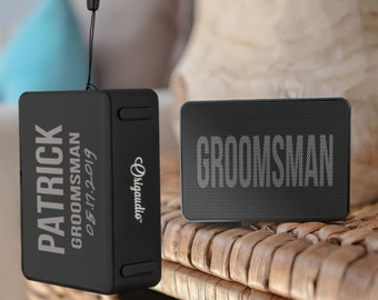 Groomsmen Gifts Personalized Bluetooth Speaker Gift Ideas For Men Him Teen Boy Friend Fathers Day Birthday