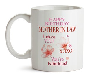 Birthday Gift For Mother In Law Happy Mug Ideas Gifts Her Bday