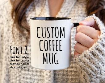 e2c6cbad1e68 Custom Coffee Mugs For Men Personalized Gifts Custom Name Mugs Customized  Mug Birthday Mug Gift Personalized Mugs For Men Gift For Him