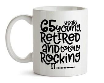 Birthday Gift For Retired Seniors 64th Mug Retirement Gifts Senior Citizen