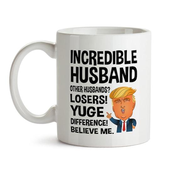 Gifts For Husband Christmas.Husband Gifts From Wife Trump Mug For Husband Christmas Gift Husband Mug Husband Coffee Cup Husband Gift From Wifey Husband Christmas Gift