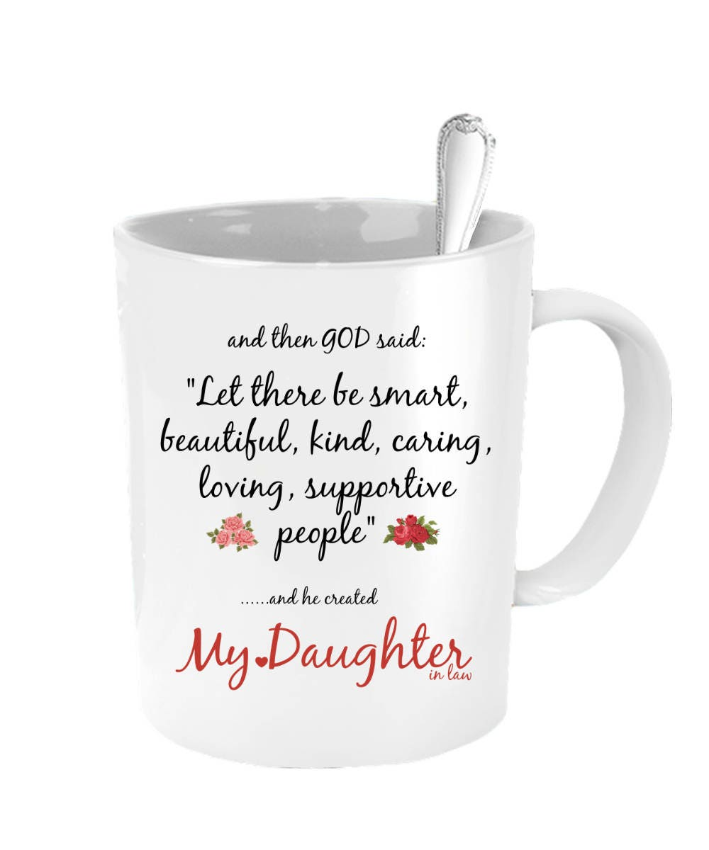 Daughter In Law Christmas Gift Daughter In Law Coffee Mug | Etsy