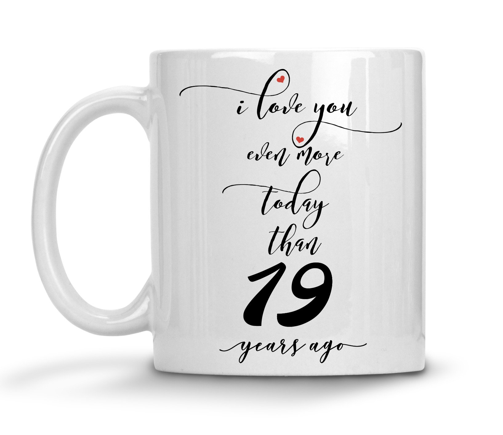 Gifts For 19th Wedding Anniversary: 19th Wedding Anniversary Gift For Him Personalized