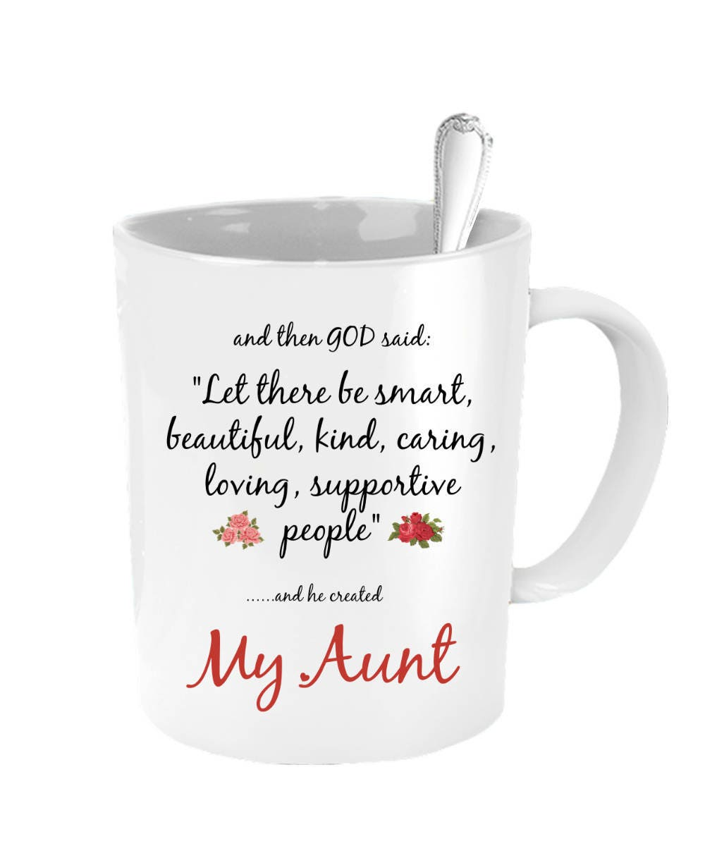 Wedding Gift For Aunt: Aunt Mug Mothers Day For Aunt Aunt Wedding Gift Aunt
