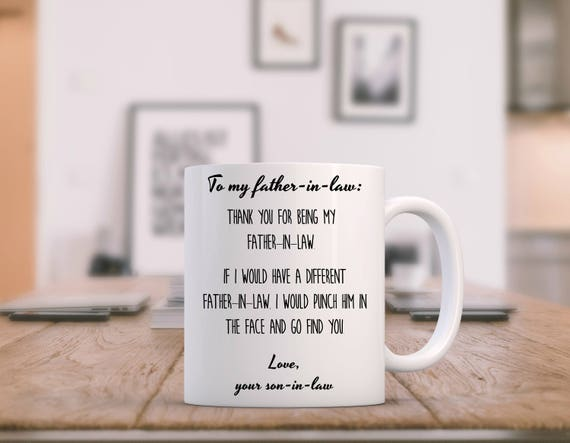 Father In Law Wedding Gifts: Items Similar To Father In Law Gift Funny, Father Of The