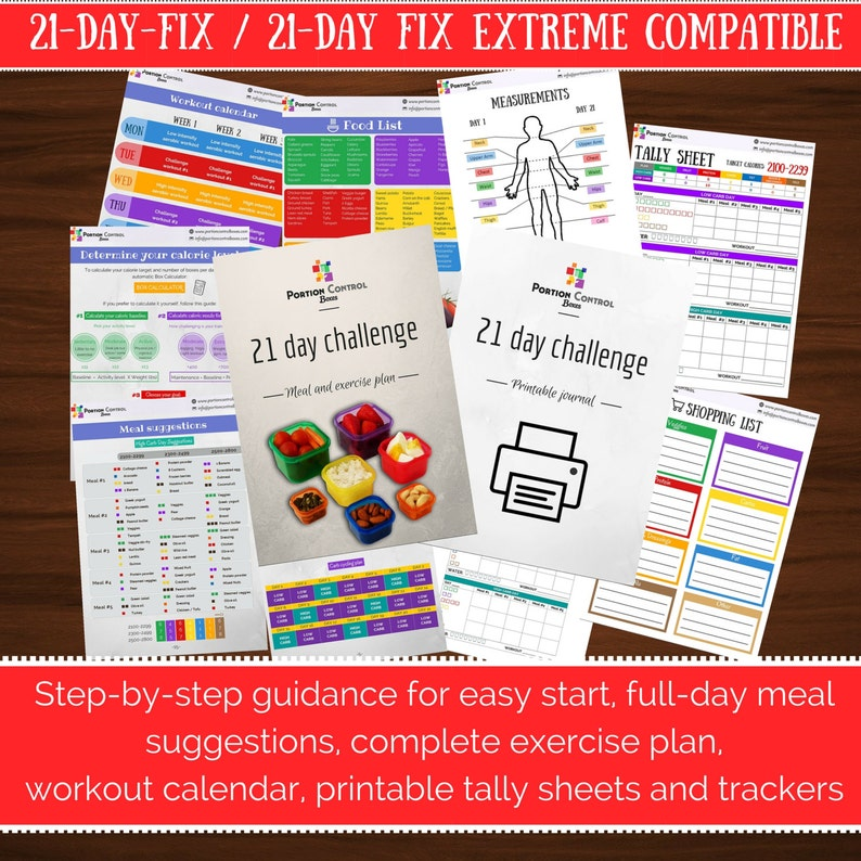 photo regarding 21 Day Fix Workout Schedule Printable known as Thorough 21-working day evening meal and health program for greatest good results, suitable w/ BEACHBODY 21-working day repair / 21 working day repair service excessive. With printable magazine.