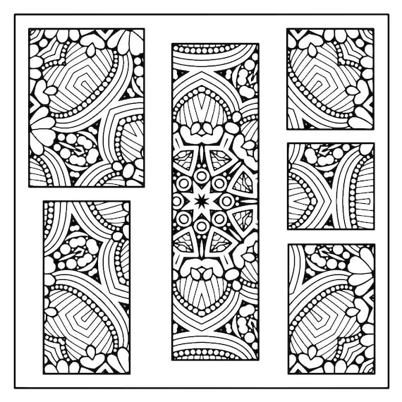 Spring Spring Coloring Coloring Pages Adult Coloring Etsy