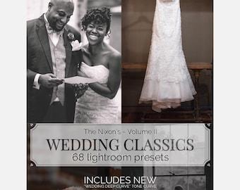 Wedding Classics 2   Lr CLASSIC/Ps (Camera Raw) Presets - Professor Hines' Choice