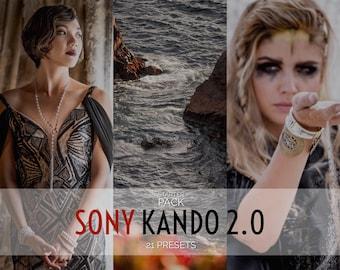 "Sony Kando 2.0 - ""STARTER PACK""   Lr 7-CLASSIC/Ps (Camera Raw) Presets - Professor Hines' Choice"