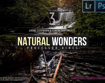 Natural Wonders, Vol. 3   Lr 7-CLASSIC/Ps (Camera Raw) Presets - Professor Hines' Choice