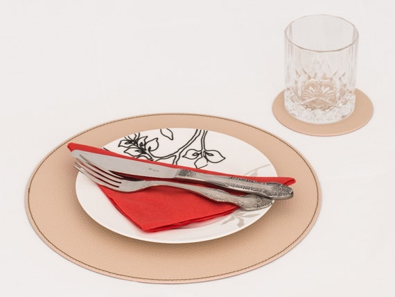 Round Table Small Place Mats, Table Placemats For Round Tables