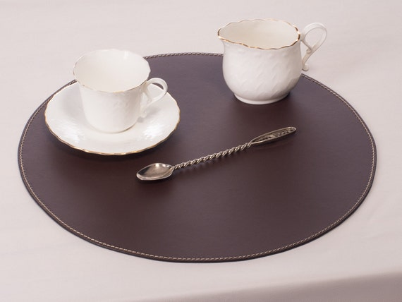 Brown Round Placemats Place Mats And, Placemat For Round Table