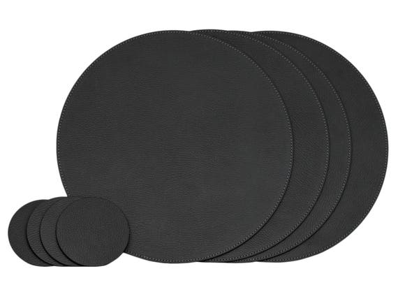 Black Round Placemats For, Table Placemats For Round Tables