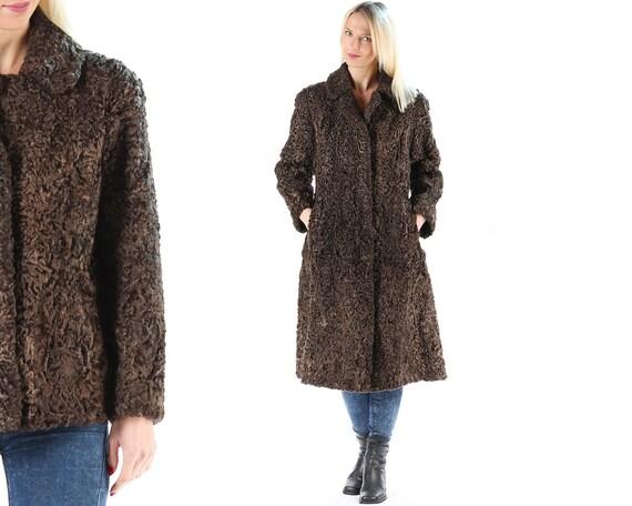 52eb49326db Karakul Coat 60s PERSIAN LAMB FUR Vintage Curly Fur Luxury