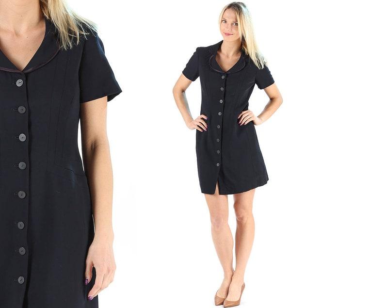 3c178ebc3f Black DKNY Dress 90s Donna Karan Black Mini Dress Formal