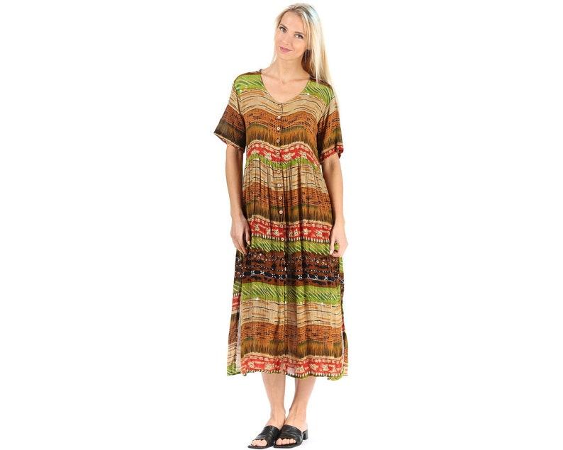 80a77685daf Midi Grunge Dress Vintage Sundress Boho Chic Maxi Dress Summer