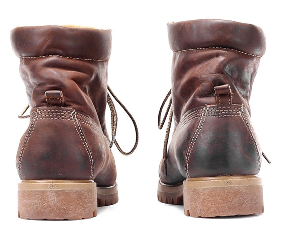 Boots 6 Boots 5 US Ankle EUR UK women Padded Camping Boots 39 Walking Brown Booties Hiking 9 Timberland Leather Rugged 90s Oiled Sole 5 8ISIgqBw