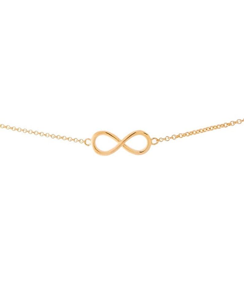 Jmonds Infinity Bracelet 925 Silver Plated