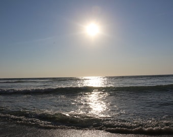 Sunset on the Beach 2