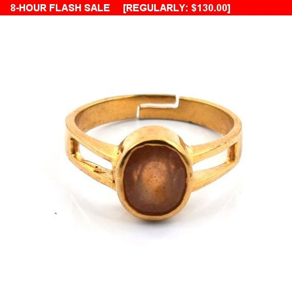 Designer Astrological Pukhraj,Yellow Sapphire Ring As Jupiter Remedy, For  Career Growth,Wealth, Prosperity ,Foreign Travel,Fame