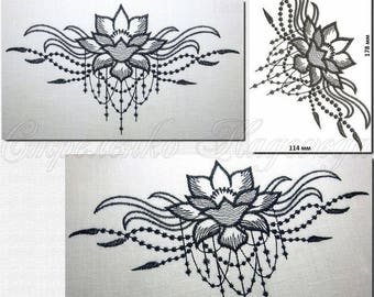 machine embroidery designs embroidery lotus digital embroidery maschinenstickerei lotus design of machine embroidery