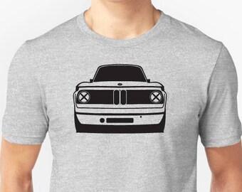 BMW 2002 retro graphic t-shirt e10 tii turbo 1600t M 3 Series M3 SIMPLE