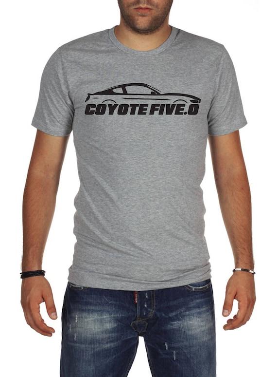 Ford Mustang T Shirt Coyote 5 0 Grau S550 Grun Etsy