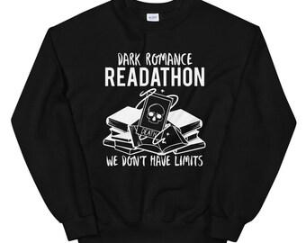 Dark Romance Readathon Unisex Sweatshirt